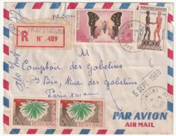 MADAGASCAR - LETTRE Recommandée : FARAFANGANA Le 02/09/1960 - Madagascar (1960-...)