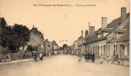 St POURCAIN Sur SIOULE - Faubourg National - Francia
