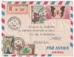 MADAGASCAR - LETTRE Recommandée : AMBOHIDRATRIMO Le 14/03/1962 - Madagascar (1960-...)