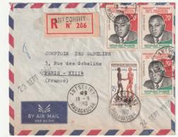 MADAGASCAR - LETTRE Recommandée : ANTSOHIHY Le 19/09/1960 - Madagascar (1960-...)