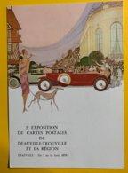 8896 - 1ère Exposition De Cartes Postales De Deauville-Trouville 1979 - Bourses & Salons De Collections