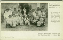 CHINA -  CHINESE ORPHANAGE - CHILD DISEASE DEPARTMENT - ITALIAN EDITION - 1910s (BG4890) - China