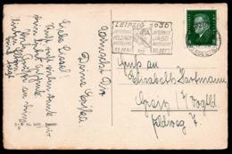 C9039 - Sonderstempel Leipzig Jagausstellung Glückwunschkarte WSSB - Poststempel - Freistempel
