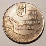 10zł 50 Lat Portu W Gdyni 1972 - Pologne