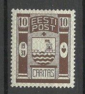 Estland Estonia 1938 Caritas Michel 131 * - Estland