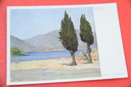 Lago Di Garda Brescia Portese Sul Garda Pittura E. Polesello 1940 + Firma Originale Luigi Manenti Compositore - Brescia