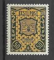 Estland Estonia 1938 Caritas Michel 134 * - Estland
