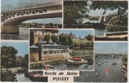 Yvelines : POISSY :  Bords D E  Seine - Poissy