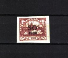 TSCHECHOSLOWAKEI , Czechoslovakia , OSTSCHLESIEN . 1920 , ** , MNH , Postfrisch , Mi.Nr. 19 A - Neufs