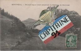 CPA MONTREAL AIN PIC SUR LEQUEL ETAIT CONSTRUIT LE CHATEAU DE MONTREAL - France