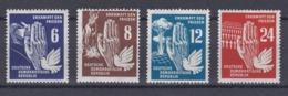 DDR Kleine Verzameling 1950 Nr 28/31 *, Zeer Mooi Lot Krt 4167 - Collezioni (senza Album)