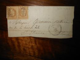 Lettre GC 3860 Sainte Sigolene Haute Loire - 1849-1876: Période Classique