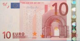10 EURO IRELAND(T) K007 DRAGHI, Diseño 2002, Uncirculated - EURO