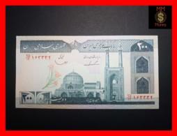 IRAN 200 Rials  1982  P. 136 B  UNC - Iran