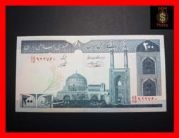IRAN 200 Rials  1982  P. 136 E  UNC - Iran