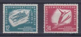 DDR Kleine Verzameling 1951 Nr 32/33 *, Zeer Mooi Lot Krt 4168 - Colecciones (sin álbumes)