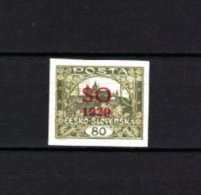 TSCHECHOSLOWAKEI , Czechoslovakia , OSTSCHLESIEN . 1920 , ** , MNH , Postfrisch , Mi.Nr. 18 A - Cecoslovacchia