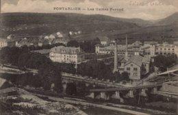Dep 25 , Cpa PONTARLIER , Les Usines Pernod (10101) - Pontarlier
