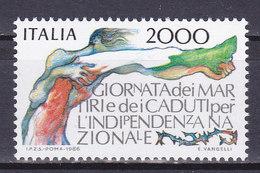 ITALIE, N° 1707, Indépendance Italienne,  Neuf**, ( W1904/061) - 1981-90:  Nuovi