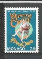MONACO ANNEE 1991 N° 1753 NEUF** NMH - Monaco