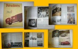 Revue Réalités 1948 Salon De L'automobile, 2 CV Citroën,  ; TOP, à Voir ; L0 1 - Bücher, Zeitschriften, Comics
