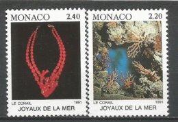 MONACO ANNEE 1991 N° 1774 1775 NEUFS** NMH - Monaco