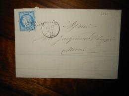 Lettre GC 3842 Saint Saulge Nievre Avec Correspondance Et Bordereau - 1849-1876: Période Classique