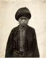 FEMME YAO TIN PAN CLICHÉ TETART INDOCHINE INDO CHINA ASIA 23*17CM Fonds Victor FORBIN 1864-1947 - Fotos