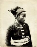 FEMME XA CLICHÉ TETART INDOCHINE INDO CHINA ASIA 23*17CM Fonds Victor FORBIN 1864-1947 - Photos