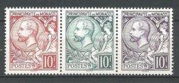 MONACO ANNEE 1991 N° 1783 A 1785 NEUFS** NMH - Monaco