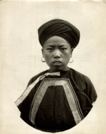 FEMME HEU MEO MEO NOIT CLICHÉ TETART INDOCHINE INDO CHINA ASIA 23*17CM Fonds Victor FORBIN 1864-1947 - Photos
