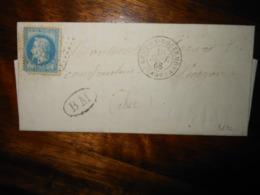 Lettre GC 3832 Saint Remy En Bouzemont Marne Avec Correspondance - 1849-1876: Période Classique