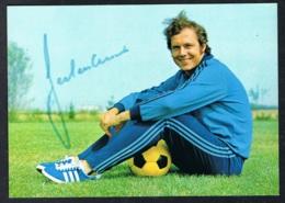 Franz Beckenbauer Autogrammkarte - Calcio