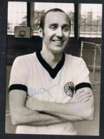 Willi Schulz Autogrammkarte - Fussball