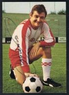 Willi Lippens Sammelbild Mit Autogramm - Fussball