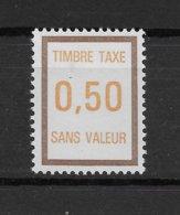 Fictif Taxe N° 33 De 1972 ** TTBE - Cote Y&T 2019 De 1 € - Phantomausgaben