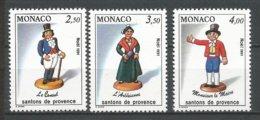 MONACO ANNEE 1991 N° 1794 A 1796NEUFS** NMH - Monaco