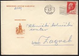 Yugoslavia Croatia Karlovac 1971 / Partisan Dreznica, Partizanska Drežnica / Medical Centar Karlovac - Medicine