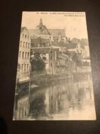 Mechelen - Malines -  La Dyle, Vue Prise Au Pont De La Fontaine Vers L'eglise ND - Gelopen 1913 - Mechelen