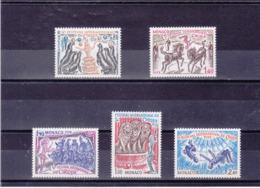 MONACO 1978 CIRQUE Yvert 1167-1171 NEUF** MNH - Ungebraucht