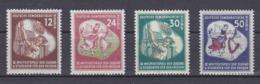 DDR Kleine Verzameling 1951 Nr 41/44 *, Zeer Mooi Lot Krt 4171 - Colecciones (sin álbumes)