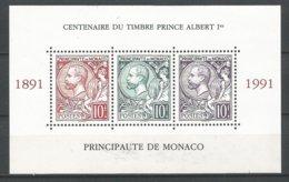 MONACO ANNEE 1991 BF N°52 NEUF** NMH - Blocks & Kleinbögen
