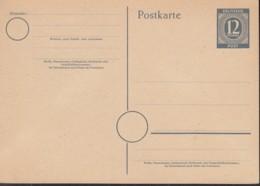 AllBes. GemAusg. MiNr. P 954 A, Ungebraucht, Postkarte 1946 - Zona AAS