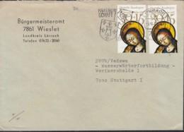BERLIN MiNr. 2x 581 EF Auf Brief Mit Stempel: Lörrach 3.1.1979 - [5] Berlin