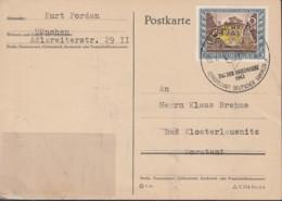 DR 828, FDC, PK, Echt Gelaufen, Sonderstempel: München Tag Der Briefmarke 10.1.1943 - Briefe U. Dokumente