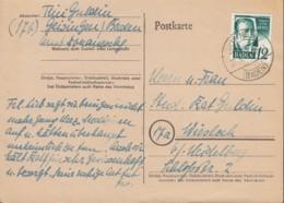 FranzZone BADEN 4 EF, Auf Postkarte Mit Stempel: Geisingen 30.3.1948 - French Zone
