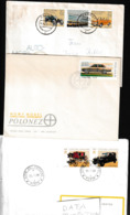 P 399) Belege Zum Thema Auto Hersteller Polonez (FDC), Trabant Zwickau, Citroen - Cars