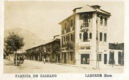 Chili - Santiago - Fabrica De Calzado - Laborde Hnos - Chile