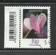 Deutschland BRD Blume Flower Alpenveilchen O - [7] Repubblica Federale