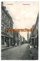 Kevelaer 1909, Hauptstrasse - Nach Anvers, Belgien - Hagen